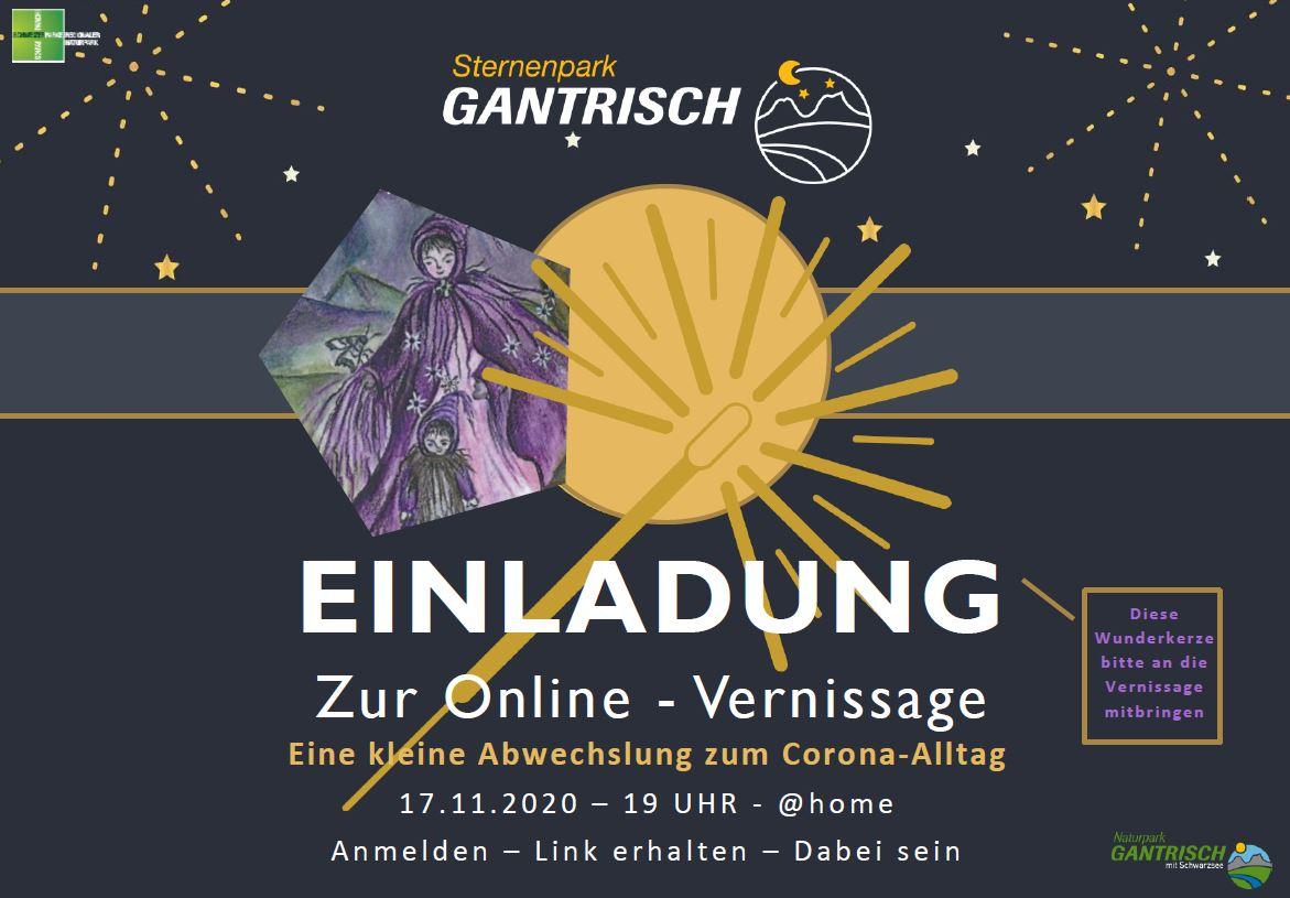 Einladung zur Online-Vernissage