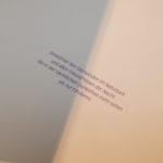 Widmung im Buch